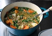 Charlie's Lentil and Sweet Potato Stew